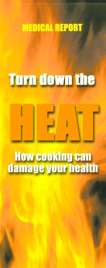 Turn down the Heat - how cooking can damage your health