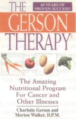 The Gerson Therapy front cover