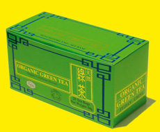 Green tea boxed