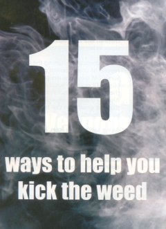 15 ways to help you kick the weed