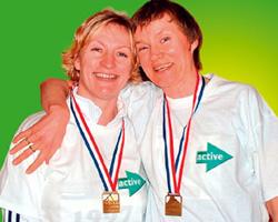 Deborah Thomas and Wendy Gordon