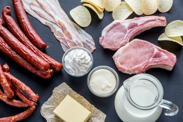 Saturated fat and increased cancer risk
