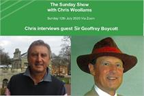 The Sunday Show, Chris Woollams interviews Sir Geoffrey Boycott