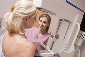 Screening mammograms and breast cancer