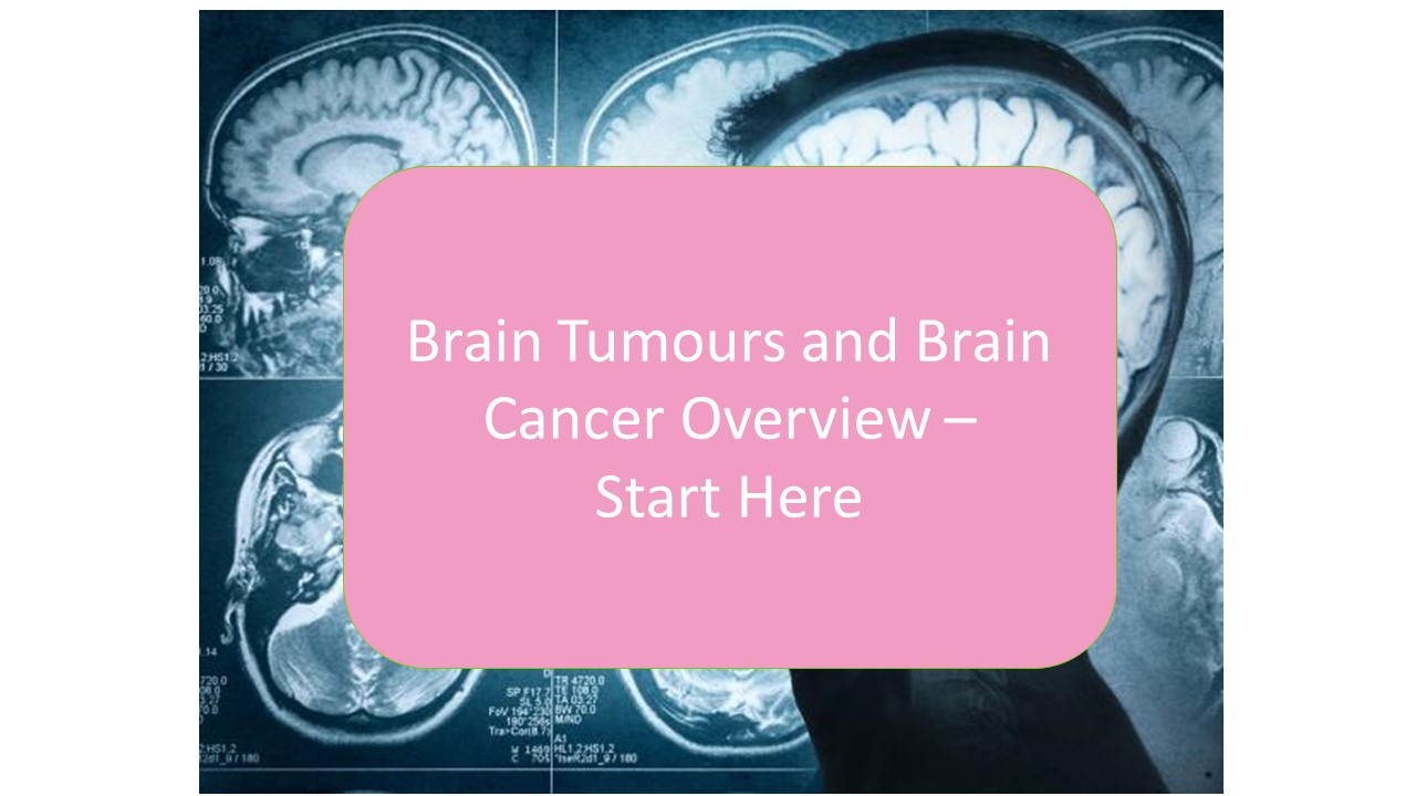 * An Overview of Brain Tumours and brain cancer - symptoms, causes and treatment alternatives