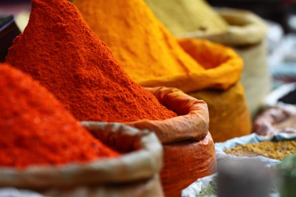 The Rainbow Diet and Spices