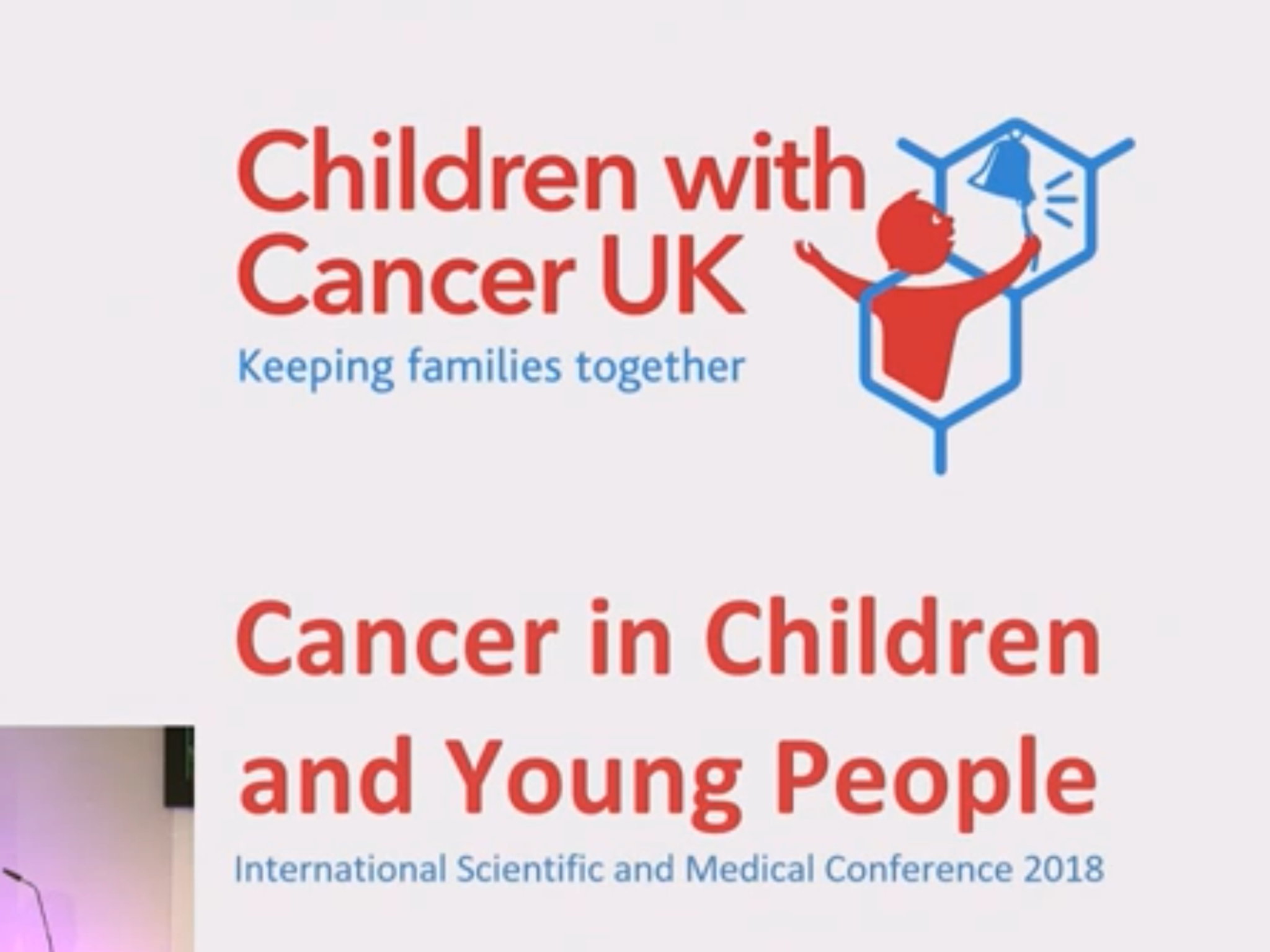 Children with cancer conference - Chris Woollams