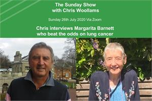 The Sunday Show, Chris Woollams interviews Margarita Barnett